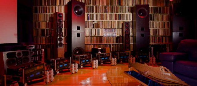 What does a standard surround sound system consist of?
